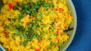 Tomato Poha Recipe | Quick & Easy Breakfast Recipe | Divine Taste With Anushruti