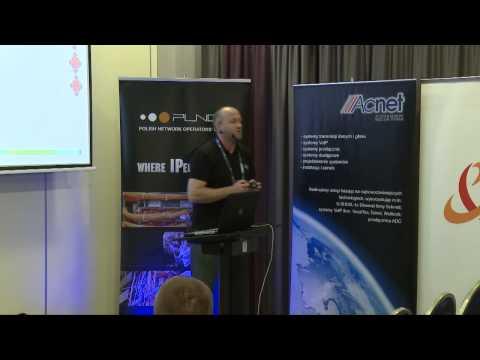 """PLNOG 9: """"Unified MPLS -- jak to się robi"""" Marcin Aronowski (Cisco Systems)"""