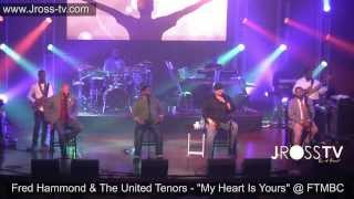 "James Ross @ Fred Hammond & The United Tenors - ""My Heart Is Yours"" - www.Jross-tv.com"