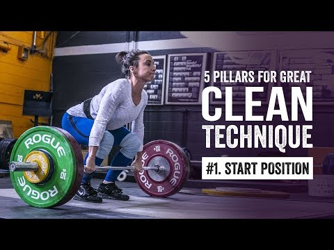 Clean Pillar #1 | The Start Position | JTSstrength.com