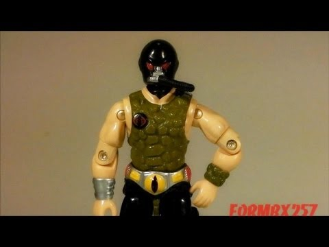 1987 Croc Master (Cobra Reptile Trainer) G.I. Joe review