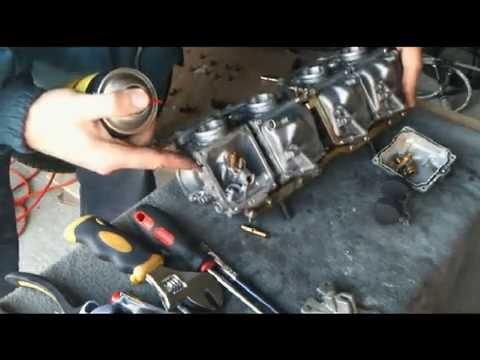 yamaha xj600s 1998 carb valve service cz2 mpg youtube rh youtube com