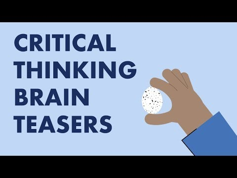 Using Brain Teasers to Build Critical Thinking Skills