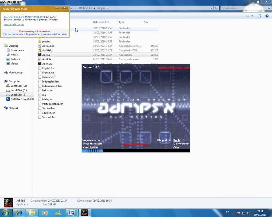 emulador adripsx
