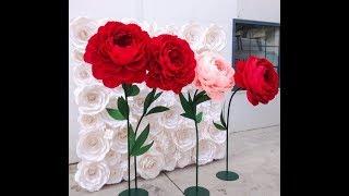 Гигантские цветы.  Идеи