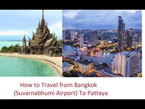 How to Travel from Suvarnabhumi Airport Bangkok to Pattaya