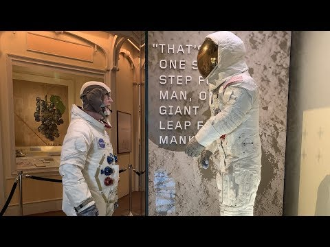 Adam Savage Meets Neil Armstrong's Apollo 11 Spacesuit!