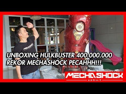 UNBOXING HULKBUSTER 400 JUTA ! TINGGI 3 METER !! UNBOXING STATUE TERMAHAL DI INDONESIA!