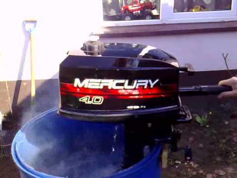 Mercury 4 hp outboard motor 2000r 2 stroke dwusuw youtube for Mercury 4 hp boat motor