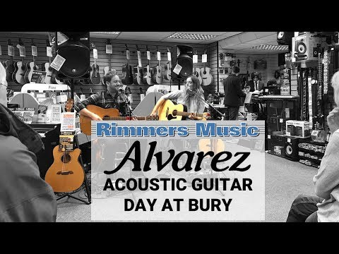 Alvarez Day At Bury Store - Rimmers Music