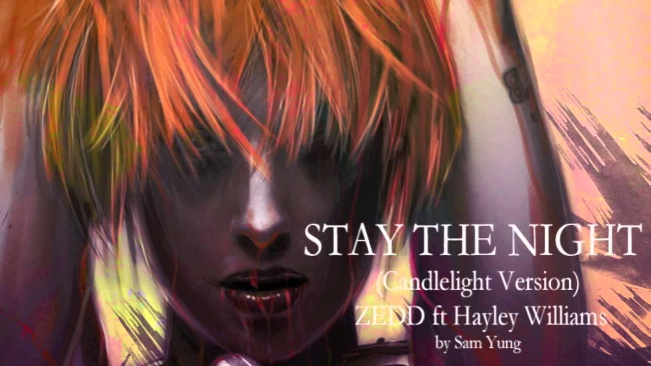 Stay the Night - Zedd ft. Hayley Williams live @ Wango ...