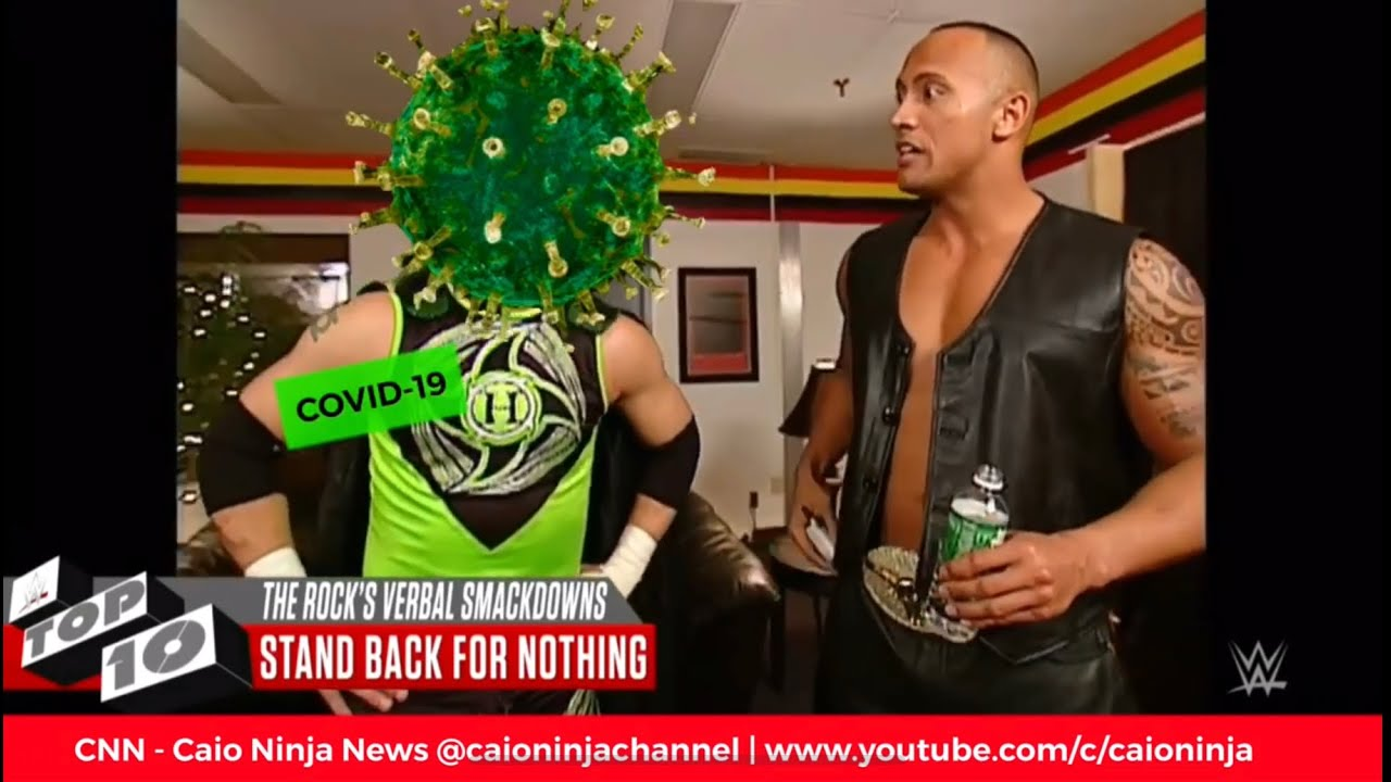 CNN - Caio Ninja News | Episode 43 THE ROCK vs CORONA