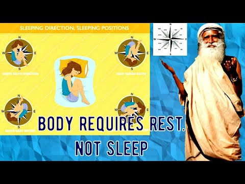 Sadhguru about sleep, tips to sleep well.