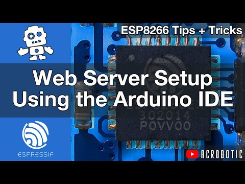 ESP8266 Web Server Step-By-Step Using Arduino IDE (Mac OSX and Windows)