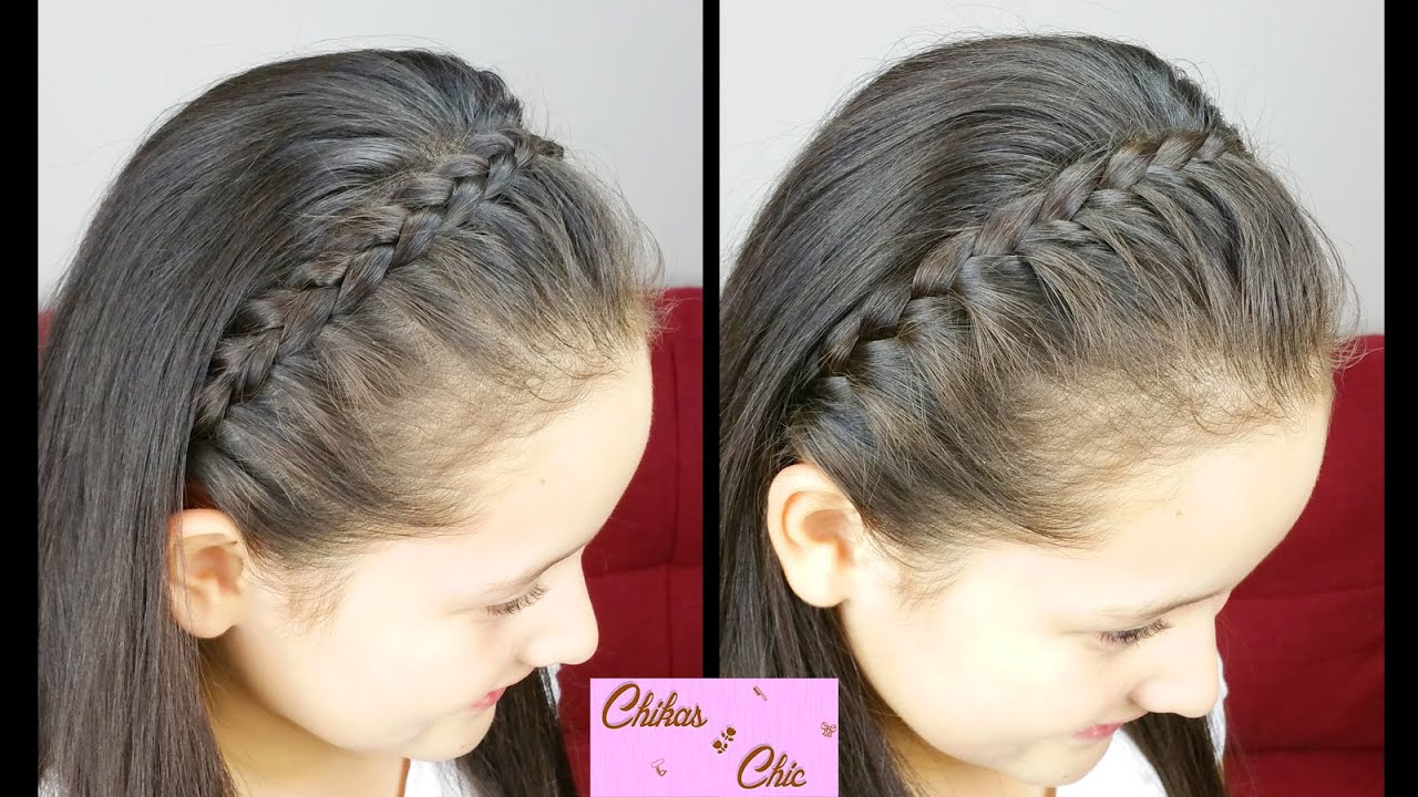 Classic braided headband 2 options braided hairstyles - Fotos peinados con trenzas ...