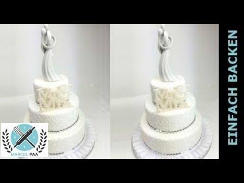 Mr Und Mrs Hochzeitstorte Modern Weddingcake Youtube