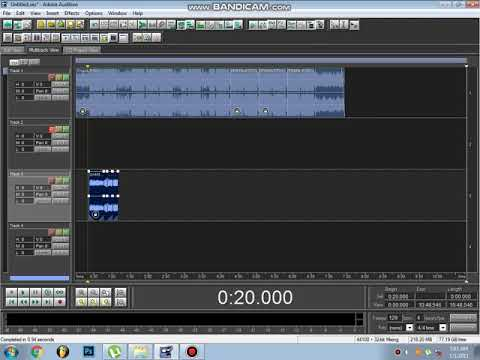 MIXING VOCALS IN ADOBE AUDITION 1.5 (Tagalog)