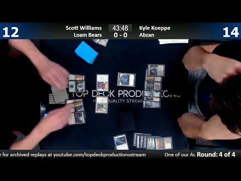 Modern 8/15/17: Scott Williams (Loam Bears) vs. Kyle Koeppe (Abzan)