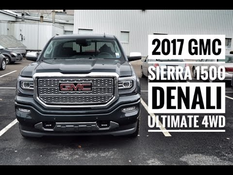 2017 Sierra Denali Ultimate Crew Cab Road Test Review Pye Chevrolet Buick Gmc