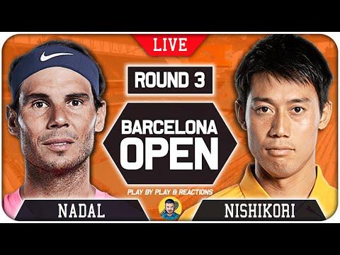 🔴 NADAL vs NISHIKORI | Barcelona Open 2021 | LIVE Tennis Play-by-Play