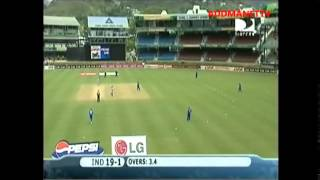 INDIA VS BERMUDA, INDIA INNING PART ONE