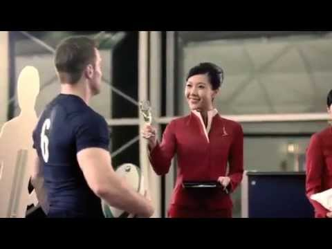 Cathay pacific Airlines commercial ad