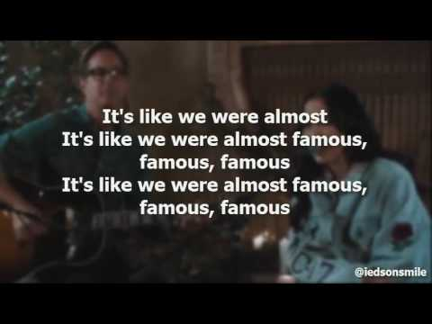 Noah Cyrus - Almost Famous (Official Lyric Video)
