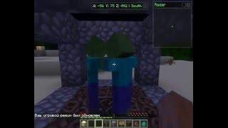 Как сделать ловушку для зомби [Minecraft]