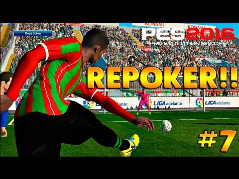 PES 2016 Master League | SUPER REPOKER!!! OMFG!! #7 | 2.0 |