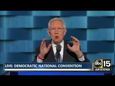 FULL: Harry Reid HAMMERS Donald Trump at the Democratic National Convention