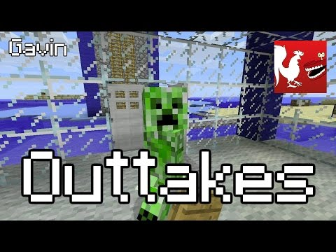 Let's Play Minecraft  - Wipeout Outtakes