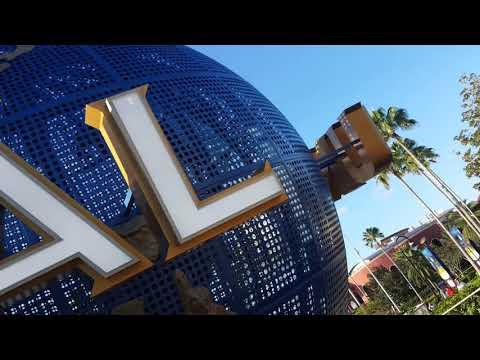 Big universal Orlando globe