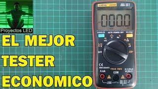 El mejor tester economico para electronica, review aneng an8008