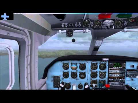 FSX - Flight 1 BN-2 Islander Invercargill to Stewart Island