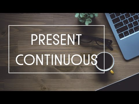 Present Continuous примеры, Present Continuous диалог, предложения в Present Continuous