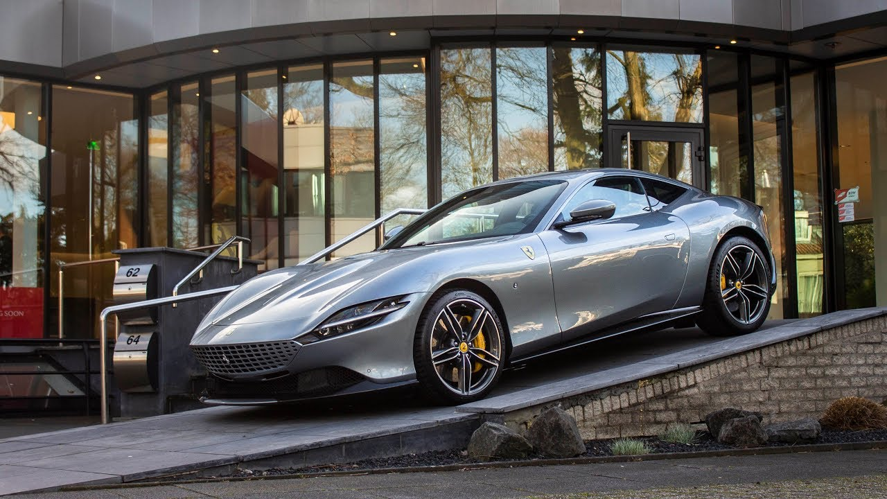 Brand New Ferrari Roma Start Up Revs Interior Exterior In Detail Youtube