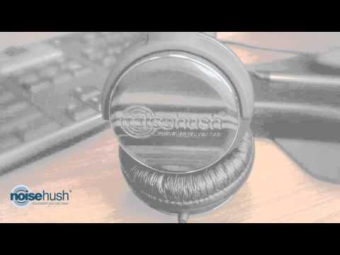 NoiseHush - NX26 Wood Headphones