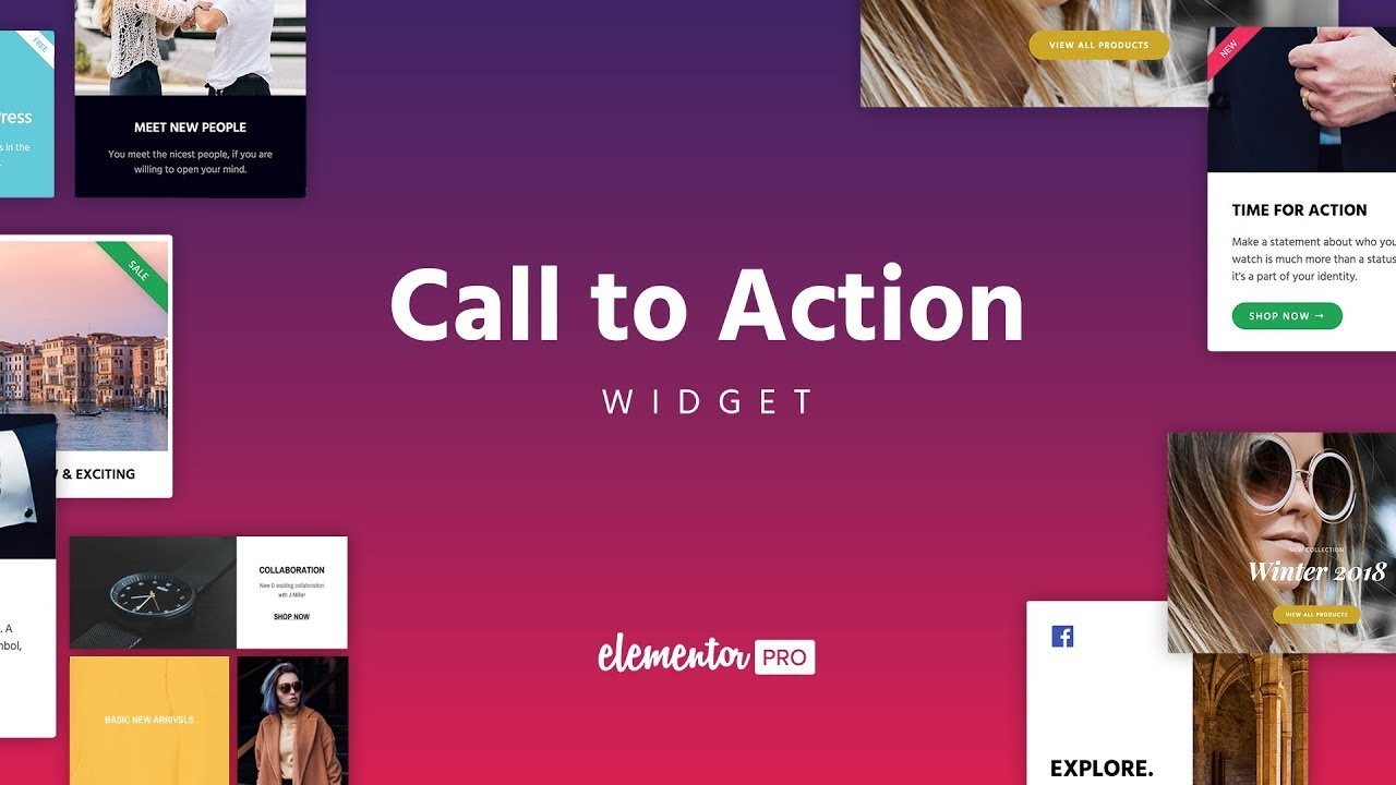 Introducing The Call To Action Widget, Create Beautiful