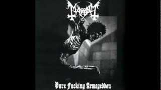 MAYHEM - pure fucking armageddon (full demo) HD