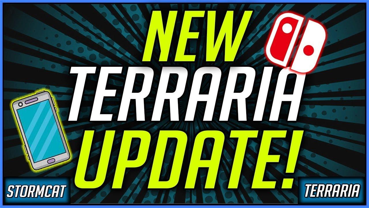 terraria mobile update 1.3 release date 2019