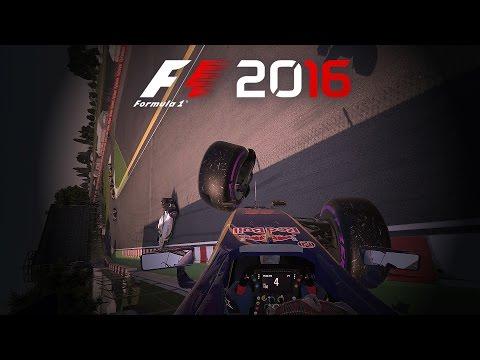 F1 2016 - INSANE CRASH COMPILATION #3 |