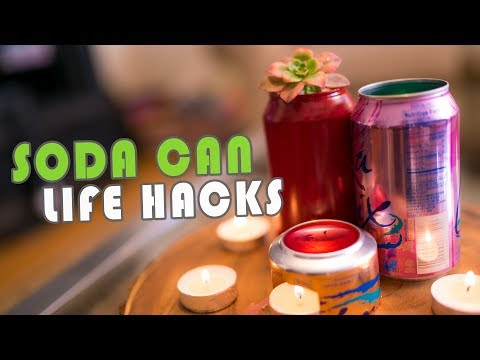 10 Awesome Soda Can Life Hacks