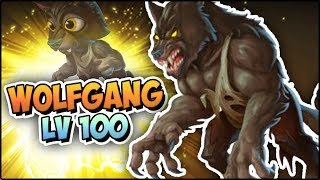 WOLFGANG (LV 100) COMBATES PVP - Monster Legends Review