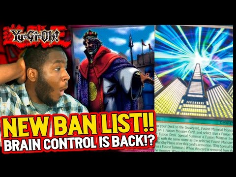 NEW Yugioh Ban/Forbidden List! March 2017 - Future Fusion and Imperial Order are back! Sangan at 3!?