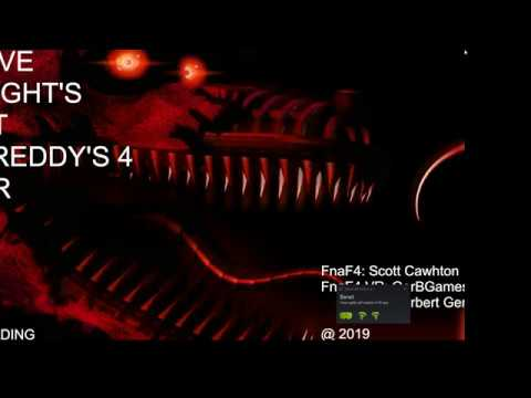 Five nights at Freddy's 4 VR: A FNAF VR FAN GAME by GerBGames