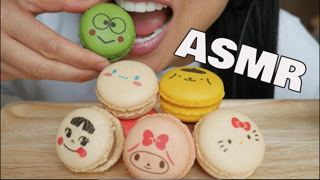 Asmr Cute Cartoons Macaron Eating Sounds No Talking Sas Asmr Youtube You'll find a variety of asmr videos covering numerous triggers. asmr cute cartoons macaron eating sounds no talking sas asmr