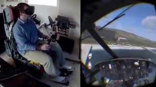 DCS Huey on the Oculus Rift DK2 стоимость шлем москва спб пермь(, 2014-08-28T10:45:04.000Z)