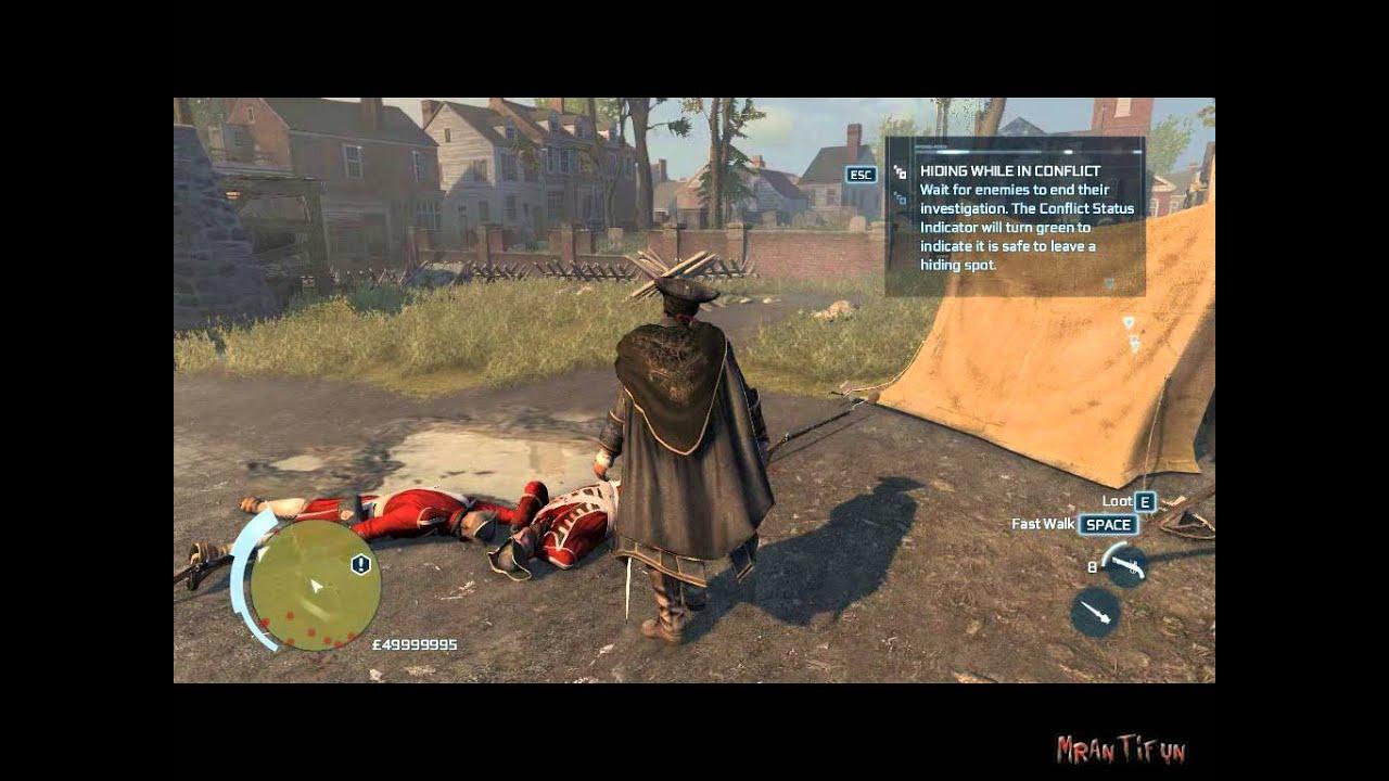 Assassins Creed III V1 02 Trainer +8