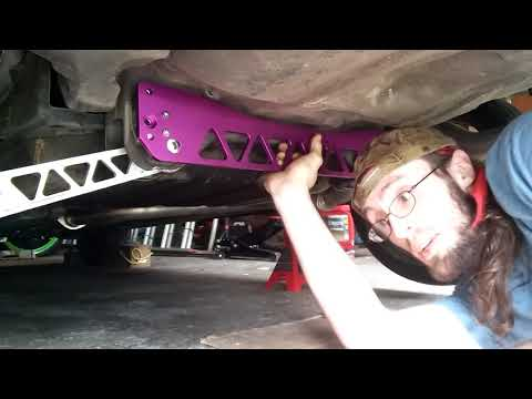 TruHart Rear Subframe Brace for 2000 civic