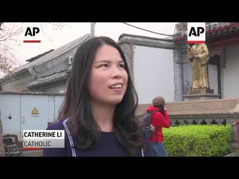 Chinese Catholics Praise Their Faith In Beijing